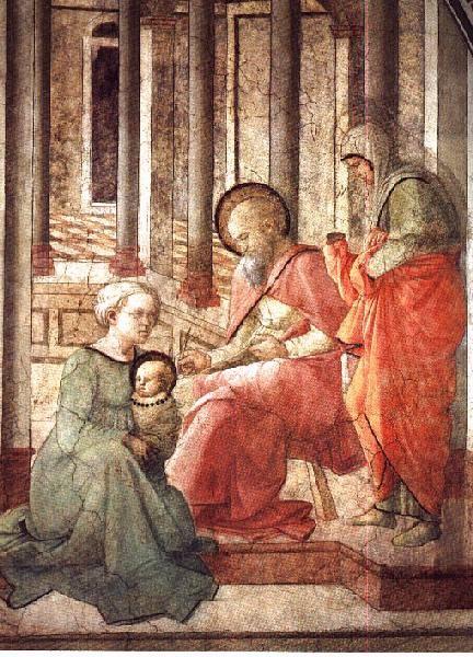 Natività di Giovanni Battista, imposizione del nome dans immagini sacre 6124855